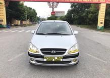 Xe Hyundai Getz 1.1MT 2009, màu bạc, nhập khẩu chính hãng, 190tr