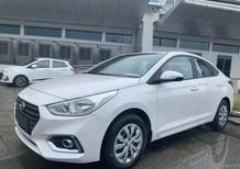 Cần bán xe Hyundai Accent 2020, màu trắng, 418tr, khuyễn mãi 8tr, đầu DVD và ghế da