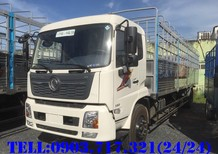 Bán xe tải DongFeng Hoàng Huy B180 thùng dài 9m5 chở bao bì, Pallet, hàng cần thùng dài