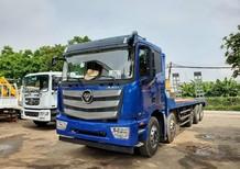 Xe tải 5 chân nâng đầu chở máy công trình Auman C340, trả góp đến 70%