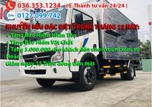 Bán xe tải 1t9 thùng kín 4m3, trả trước 80-90tr nhận xe ngay