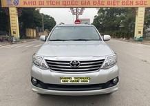 Cần bán xe Toyota Fortuner 2.7V 4x4AT 2013, màu bạc