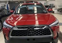 Bán xe Toyota Corolla Cross 1.8 V 2021, màu đỏ, nhập khẩu chính hãng, giá cạnh tranh
