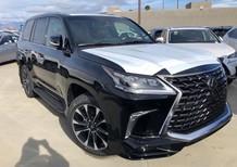 Lexus LX570 phiên bản Sport xuất Mỹ màu đen xe sản xuất 2021 nhập mới 100%