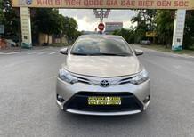 Cần bán lại xe Toyota Vios 1.5CVT 2017, màu vàng