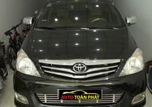 Cần bán lại xe Toyota Innova sản xuất 2009, màu đen chính chủ