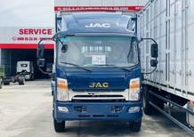 Giá xe tải Jac N800 thùng bạt dài 7m6 mới 2021