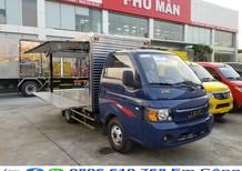 Xe tải Jac 1 tấn 5 thùng kín cánh dơi 3m2 trả góp 75% giao ngay