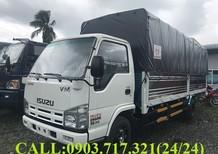 Bán xe tải Isuzu Vĩnh Phát 1T9 thùng mui bạt dài 6m2