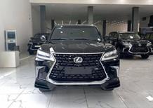 Bán Lexus LX570 Super Sport 8 chỗ màu đen, sản xuất 2016, xe mới 99,9%