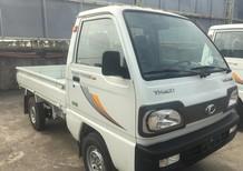 Bán xe Thaco Towner 800 2021, màu trắng thùng lửng, giá 176tr