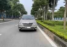 Gia đình bán chiếc xe Toyota Innova 2.0E màu nâu vàng, sản xuất 2016, chủ từ đầu