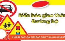 Tìm hiểu một số biển báo giao thông đường bộ không thể bỏ qua