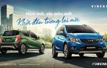 Thêm màu mới, VinFast Fadil thêm sức cạnh tranh tại thị trường Việt