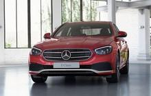 Giá lăn bánh Mercedes-Benz E180 2021 ngày tái xuất