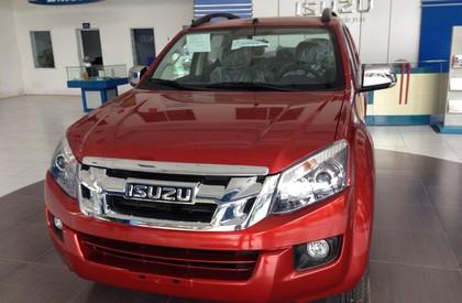 Isuzu Thăng Long bán ô tô Isuzu Dmax sản xuất 2015, màu đỏ, nhập khẩu nguyên chiếc