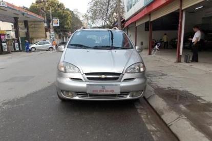 Bán Chevrolet Vivant đời 2008, màu bạc, số sàn