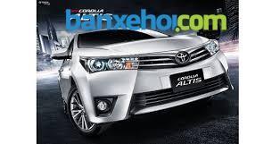 Bán ô tô Toyota Corolla Altis G đời 2015, màu bạc - Hỗ trợ vay ngân hàng đến 70% giá trị xe