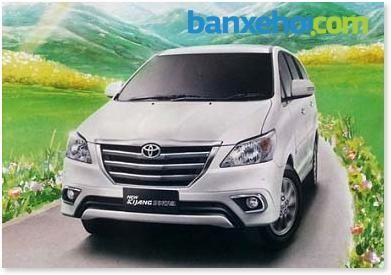 Cần bán Toyota Innova E đời 2015, màu trắng, giá 705 triệu