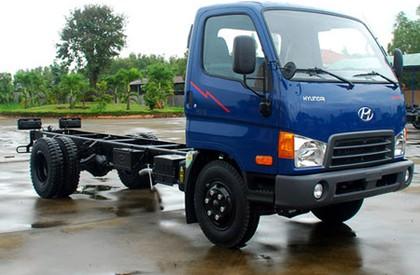 Bán xe Hyundai HD700 satxi, thùng kín, thùng lửng giao xe ngay, hỗ trợ tối đa 80%