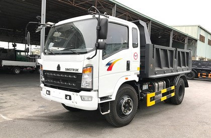 Bán xe ben Howo 6,5 tấn thùng 5 khối, hỗ trợ trả góp