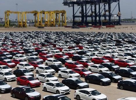Từ 5/10-11/10: Xe xuất xứ Thái Lan chiếm 81% lượng ô tô cập bến Việt Nam