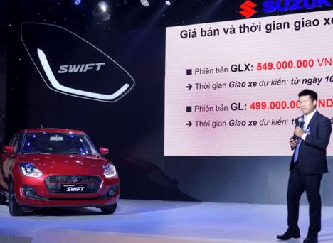 Đánh giá xe Suzuki Swift 2019 mới ra mắt khách hàng Việt