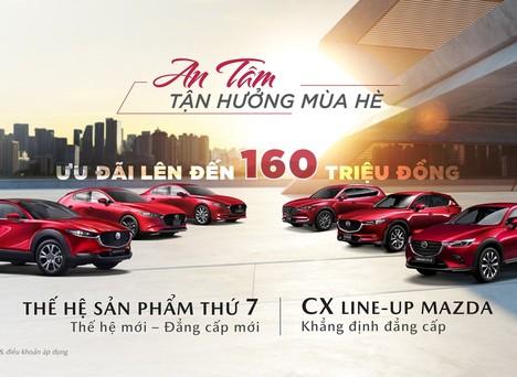 Bảng giá và ưu đãi xe ô tô Mazda tháng 5/2021
