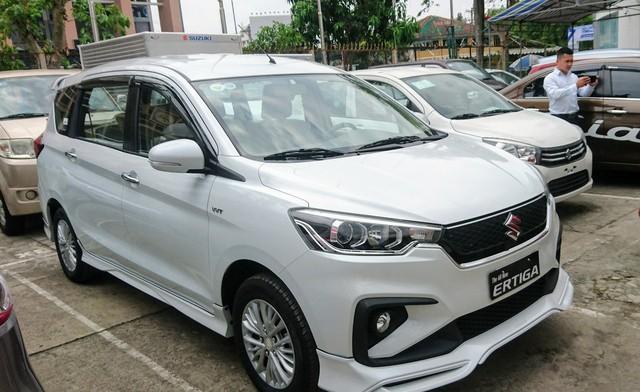Suzuki Ertiga 2019 giá 499 triệu đồng đã có mặt tại đại lý, khách nghi bị cắt trang bị