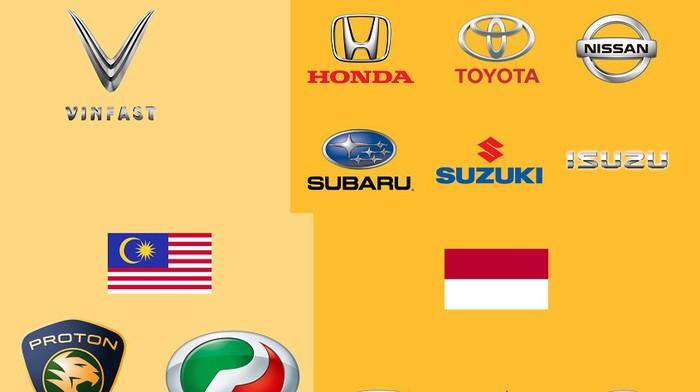 Điểm mặt các thương hiệu có nhà máy sản xuất ô tô tại Đông Nam Á